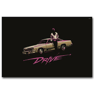 Drive Movie Ryan Gosling Art Silk Poster 13x20 24x36 inch Room Decor J131