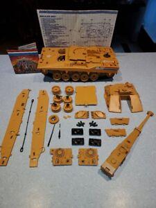 GI Joe Vintage 1985 Mauler Tank BMT Broken Parts & Wheels No Figure