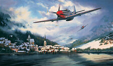 Mustangs Over The Reich by Stephen Brown P51 WWII