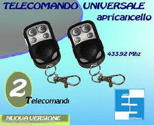 TELECOMANDO UNIVERSALE PER CANCELLO AUTOMATICO A 433,92 MHZ FAAC, BFT, NICE, ETC