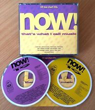 NOW That's What I Call Music 19 Original 90's Fatbox 1991 CD Double Album CD NOW