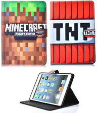 For Apple iPad Mini 1 2 3 4 5 Mine Video Game Craft Smart Stand New Case Cover
