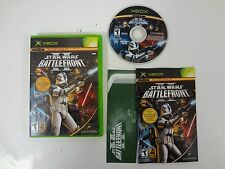 STAR WARS BATTLEFRONT II 2 MICROSOFT XBOX **FREE SHIPPING** COMPLETE