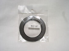 ADAPTER M42 screw lens mount to MINOLTA AF, SONY Alpha mount cameras metal ring