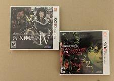 Shin megami tensei iv & Apocalypse (2 games)