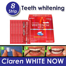 Perioe Claren WHITE NOW Whitening teeth 8 strip  Long Lasting