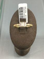 Gr.52 Damenring Goldring Verlobungsring 585 14Kt Antragsring Solitär Tektas Neu