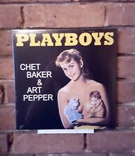 Chet Baker & Art Pepper: Playboys (VINYL)