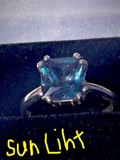 3.65+CT WOMAN S RING.RUSSIAN WELL TEST REAL LAB ALEXANDRITE GREEN TO BLUE TO RED