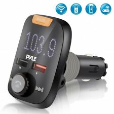 Pyle PBT98 Bluetooth Car FM Transmitter with USB 3.0 Quick Charge, w MP3/AUX/SD