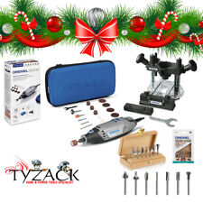 XMAS Dremel 3000 ROTARY MULTI TOOL POWER TOOL + 335 Router Attachment Cutter Set