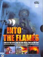 INTO THE FLAMES  documentaire 3 x DVD in box