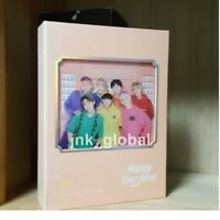 BTS 4th Muster Official DVD Full Set 3 Disc + NO Photo card + Tracking Number