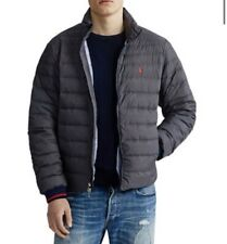 NWT Mens Polo Ralph Lauren Down Puffer Jacket Packable Lightweight Coat XL $229