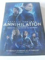 Natalie Portman Annihilation DVD Movie 2018 Widescreen Good Condition