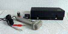 Microfono, stereo, J V C M - 201/t/u con cavo e valigia-NUOVO -