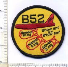 B52 (Benadryl, Haldol, Ativan) EMS Morale Patch...hook and loop backed
