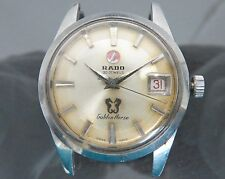 Authentic RADO Golden Horse Automatic Men's Wrist Watch 30Jewels 11675/1 Vintage