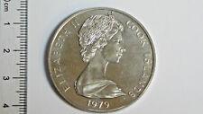 1979 COOK ISLAND 1 DOLLAR  SILVER COIN