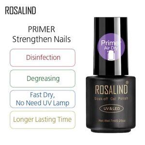 Nail PRIMER Acid Free Gel Nails Acrylic Degreaser Adhesion ALL PURPOSE Bonder