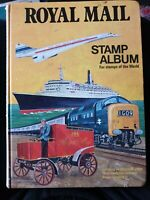 The Royal Mail Stamp Album Pre-Post war collection 254 stamps worldwide