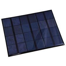 Mini Pannello Solare 6V 600mA 3.5W Fotovoltaico in Silicio Monocristallino