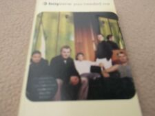 1999 CASSETTE SINGLE BOYZONE- YOU NEEDED ME-VG CON