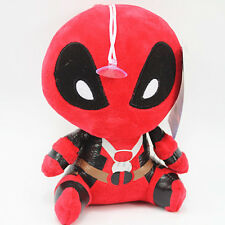 "Marvel 8"" Deadpool FUNKO MOPEEZ X-Man Wade Wilson Plush Doll Stuffed Toy&Sucker"