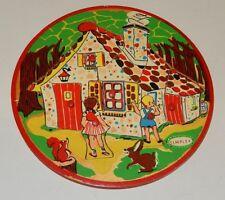 Ancien PUZZLE original marque SIMPLEX : Conte HANSEL et GRETEL - Pièces en bois