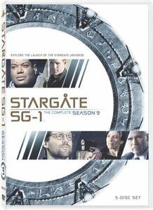 STARGATE SG-1 SEASON 9 New Sealed 5 DVD Set