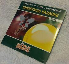 Karaoke cdg Christmas disc SFXM01,Sunfly Xmas Karaoke,see Description,20 trks