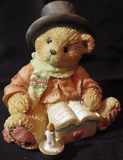 "Cherished Teddies Bear Cratchit ""Very Merry Christmas To You Mr Scrooge"" 617296"