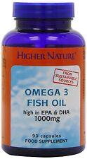 Superiore natura olio di pesce (OMEGA 3) 90 CAPS