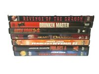 Lot Of 7 Jackie Chan Heart Of Dragon Protect A Revenge Of The Dragon Rush...