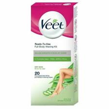 Veet Instant Waxing Kit for Dry Skin, 20 strips U.K.