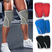 7mm Patella Knee Sleeve Support Crossfit Brace Squats Weightlifting Powerlifting