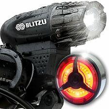Blitzu Cyborg 120T USB Rechargeable LED Bike Tail Light Free Shipping