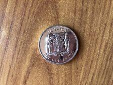 MONETA JAMAICA ONE DOLLAR DOLLARO 1971 BUSTAMANTE  SUBALPINA