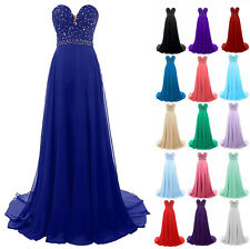Long Formal Cocktail Ball Gown Evening Prom Party Dress Bridesmaid Dresses 6-24