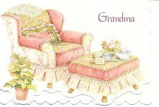 Grandma's Comfy Chair Susan Wheeler Happy Birthday Grandma Greeting Card