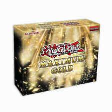 Yu-Gi-Oh Maximum Gold 1st Edition Booster BOX Sealed English Yugioh