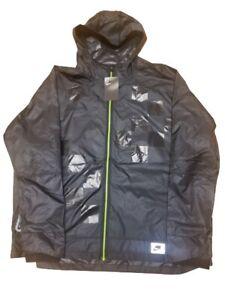 Nike Men's Flash Shield 3M Reflective Black Running Jacket BV5615-010 Size 2XL