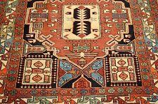 c1930s Antique Vegy Dye Kazak Design Caucasian Rug 4.3x9.3 Kork Wool_Fine Woven