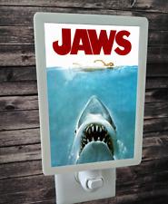 "Jaws Movie Poster 4x6"" Photo Night Light"