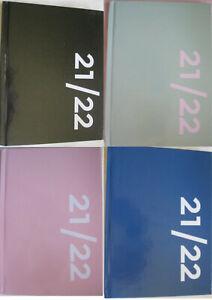 Schülerkalender 2021/2022 Wochen- Schul-Planer DIN A5 Agenda 1 Woche = 2 Seiten