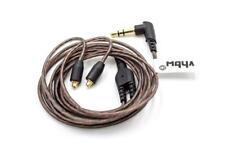 Cable Adaptador 120cm marrón para SHURE SE535,SE425,SE315,SE215,SE846