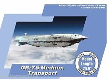 Star Wars 1/144 GR-75 Rebel Medium Transport resin model kit