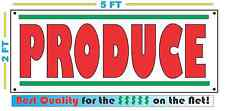 PRODUCE BANNER Sign NEW XL Larger Size Best Quality for the $$$$$