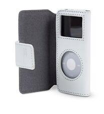 Belkin Leather Folio Case + Lanyard for Ipod Nano 1G 2G 1st 2nd Gen White F8Z058