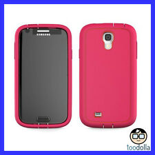CASE MATE Tough Xtreme Heavy Duty Shock/Dust resist case, Galaxy S4, Pink/Red